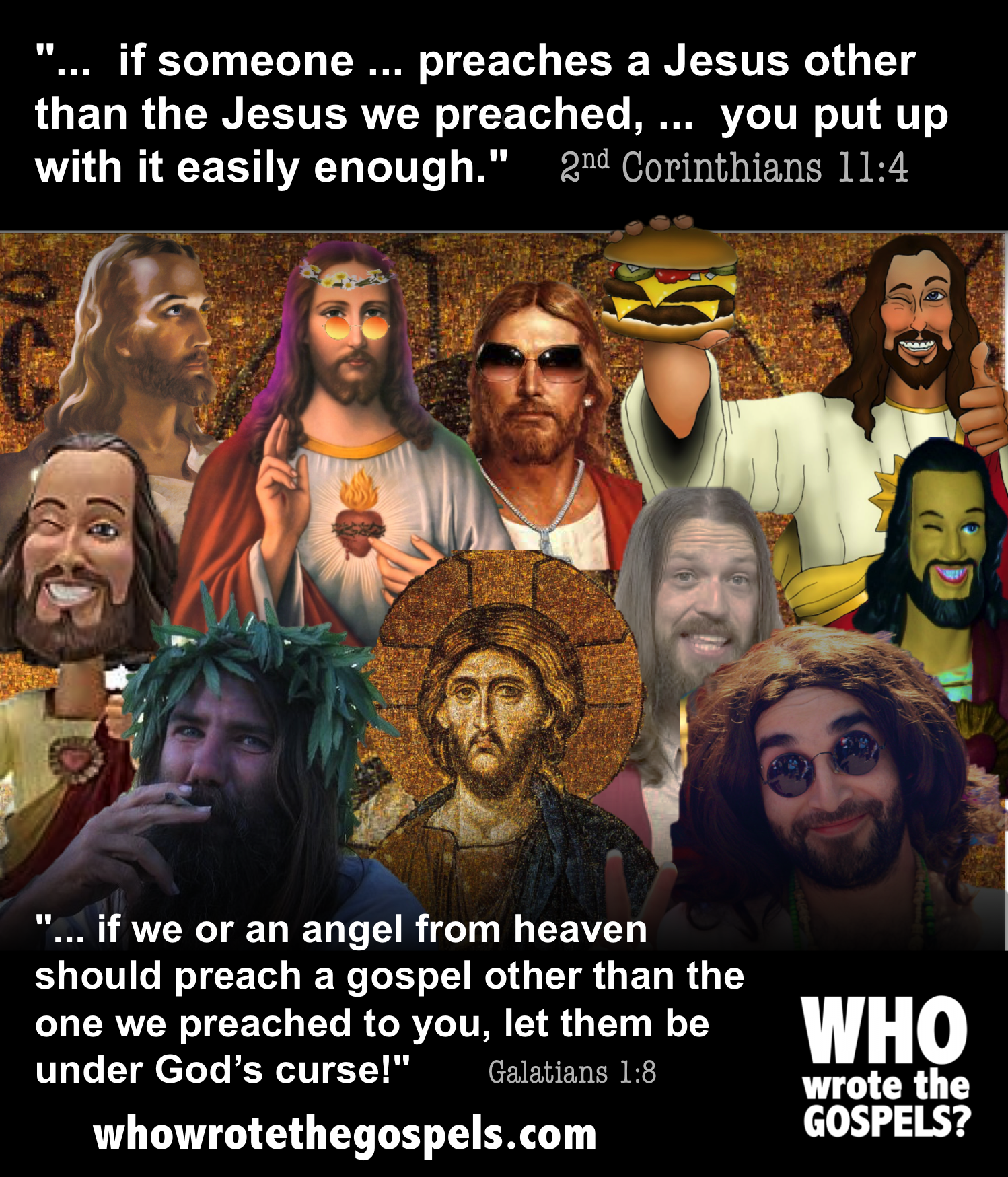 Will the Real Jesus Please Stand